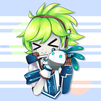 Elsword - Give Nono a Hug!~ by queen-val