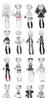 +Outfit Adoptable Mix 33 [CLOSED]+ by Hunibi