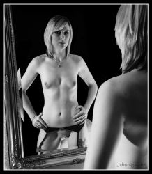 More Girl in Mirror by 365erotic