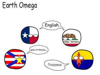 North American Languages of Earth Omega by Miner-Wars