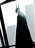 THERES BATMAN IN MY WINDOW MOM by TheBabman