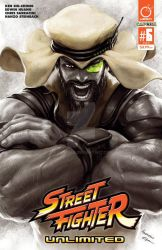 STREET FIGHTER UNLIMITED #6 Cover RASHID by Kandoken