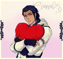 Connor on VDay by Purple-Meow
