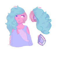 Cotton Candy Quartz - Auction (Closed) by CupcakeForMyKitten