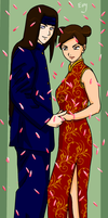 Chinese Wedding Attire 3 by SerenEvy