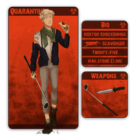 QUARANTINE: Hektor Knockenmus by Charil