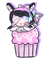 [Cupcake dream] - Lunathyst by hello-planet-chan