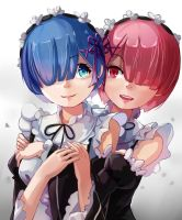 Rem and Ram by Ocamint