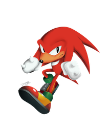 Knuckles Month Day 24 by Pepe201