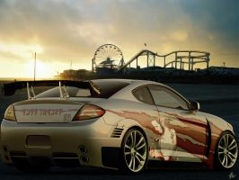 Hyundai Coupe Tuning by Hossworks