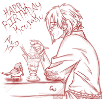 Birthday Koujaku by KillyLillyz