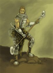 Post Apocalyptic Warlord by Saevus