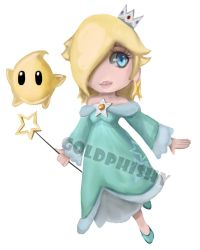 Rosalina and Luma by Goldphishy