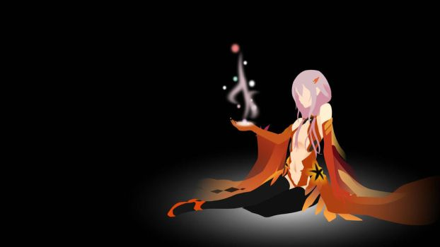 Inori from Guilty Crown (2015) by StoneBengal