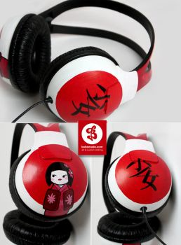 Japan Headphones by Bobsmade