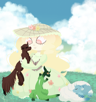.:: Babysitting ::. by OpalesquePrincess