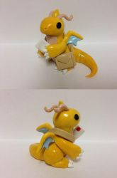 Dragonite Mail Carrier by QuetzalLeo