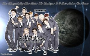 [WALLPAPER] EXO Xoxo From EXO Planet (No Effect) by ArdeliaExotics