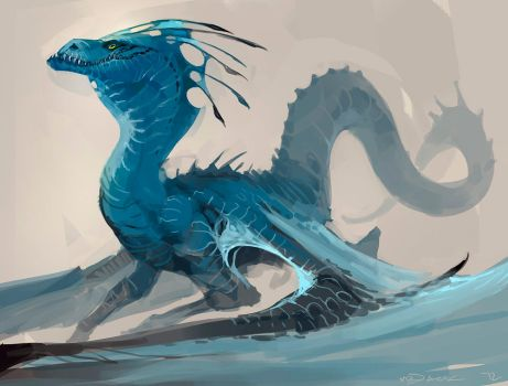 Late Dragon by Mr--Jack