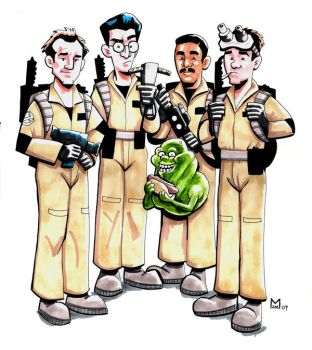 Ghostbuster - color by b-maze