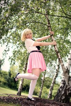 AnE: Shiemi Moriyama - fun time by JavisEan