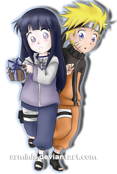 Naruto and Hinata: Not Yet by arminis