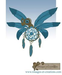Dragon fee a plumes steampunk by Emma-O-Lantern