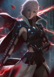 Lightning by raikoart