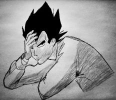 Vegeta, lay your head by Amersss