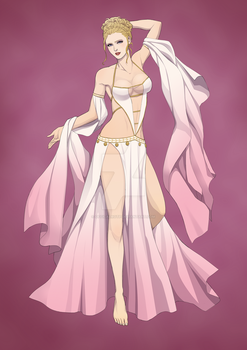 Aprodite Greek Goddess of the Love and Beauty by OfficalROTP