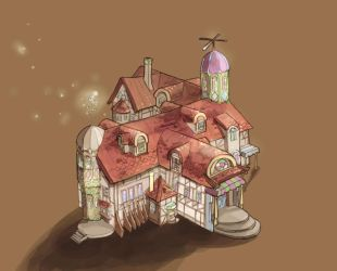lil Magic shop by sarriathmoonghost