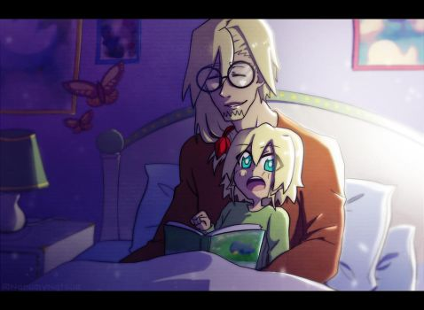 Storyteller - Yvan and KidZoe by NarumyNatsue