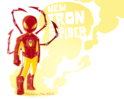 NEW IRON SPIDER-MAN 1 by Frederic-Mur