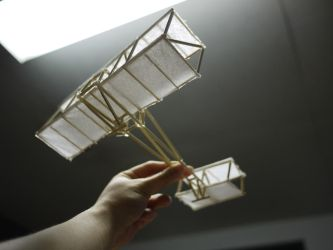 Double-Winged Airplane by yii
