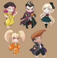 Dangan Ronpa Stickers 1 by oneoftwo