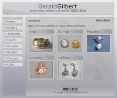 jewellery website design by F05310019