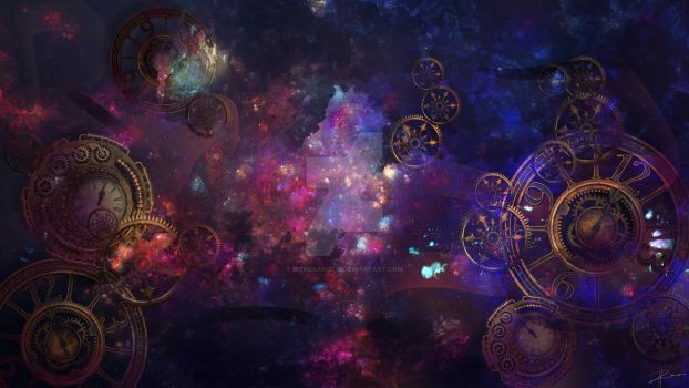 Time and Space by IreneKarotsi