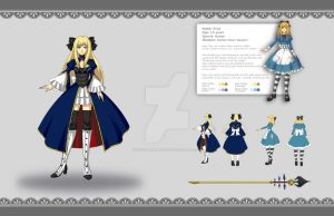 Alice Character Design by zoeymewmew13