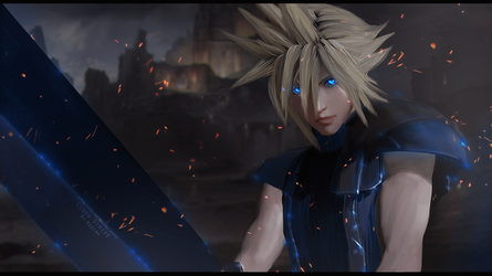 Cloud Strife by NestraS