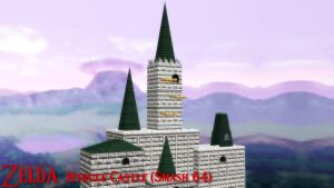 (MMD Stage) Hyrule Castle (SSB64) Download by SAB64