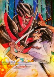 Silent Jack vs Mad Jack by natsumi33