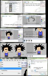 tutorial animation with RealWorld Paint by LiaxmmyArt