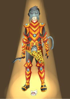 Desain Charcter by Fakhriii