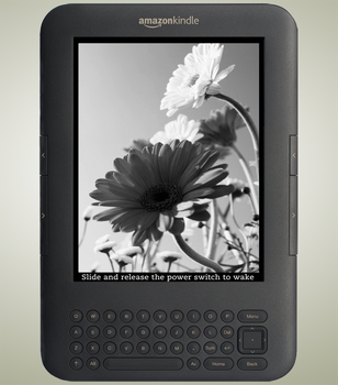 Flower Screensavers for Kindle by vamp-kiss