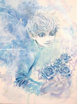 Jack Frost - Icy Roses by Shumijin