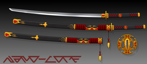 Traditional Katana Auction Adopt (closed) by Nano-Core