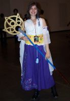 Summoner Yuna at NYAF 2010 by ShizNat4EVER