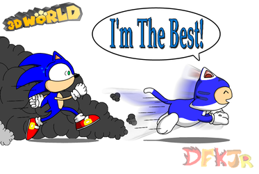 Blue Toad is Fast by DFKJR