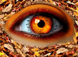 Autumn Witch Eye by asdfgfunky