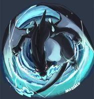 Mega X Charizard By Magiace by TungstemWillow